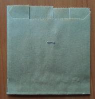 Упаковка для картофеля фри маленькая Бурая  7.933
