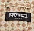 Актуальний чоловічий широкий галстук SCHONAU & HOUCKEN (ШЕНАУ & ХОЙКЕН) FAREPS-31 бежевий, фото 3
