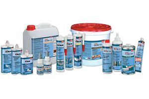 Клеи, герметики и очистители для пластиков
