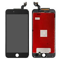 Дисплей iPhone 6S Plus, черный, с рамкой, с сенсорным экраном, Original