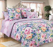 Комплект постельного белья полуторный, перкаль Влюбленность
