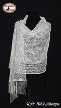 Свадебный шарф Алиса (айвори), фото 2