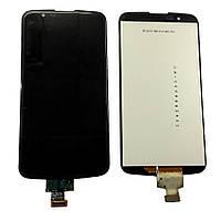Дисплей для LG K10 K410 K420 K430 + сенсор черного цвета (high copy)