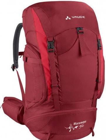 Женский туристический  рюкзак 36 л. Vaude Maremma 4021574288409  Красный