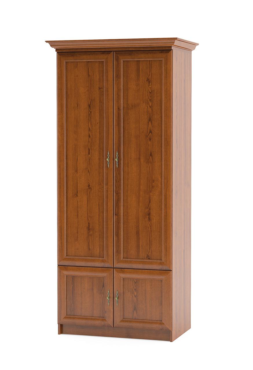 Шкаф 2Д Даллас вишня Мебель-сервис