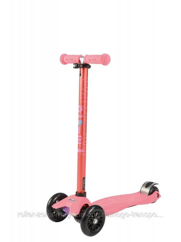 Самокат Maxi Micro Coral Pink Metallic T