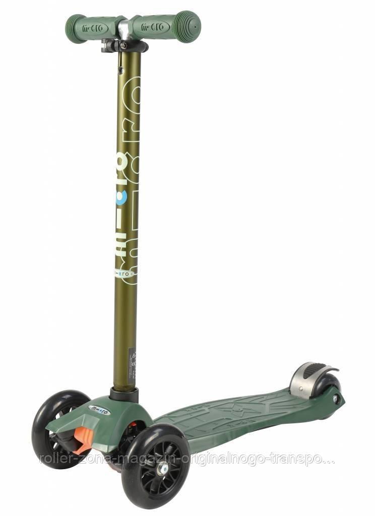 Самокат Maxi Micro Camo Green Metallic T