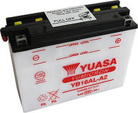 Аккумулятор мотоциклетный 16Ah 210A YUASA YB16AL-A2 ,  DUCATI Monster / Superbike , YAMAHA VMAX 1200 / XV 750