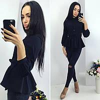 "Стильная молодежная блузка "" Баска "" Dress Code"