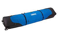 Чехол на колесах для 2-х пар лыж Thule RoundTrip Double Ski Roller 195cm (Black)