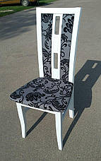 Стул кухонный деревянный Валенсия М Fusion Furniture, цвет белый, фото 2