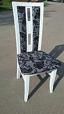 Стул кухонный деревянный Валенсия М Fusion Furniture, цвет белый, фото 3