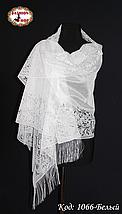 Свадебный шарф Ариана (белый), фото 3