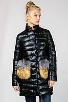 Женская зимняя куртка с накладными карманами Zilanliya
