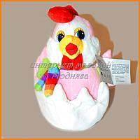 Мягкая игрушка цыпленок в яйце 20 см