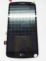 Дисплей для LG K5 X220 Dual Sim + сенсор черного цвета (high copy)