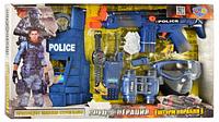 Набор полиции (жилет, маска, бинокль, автомат) 33530 HN