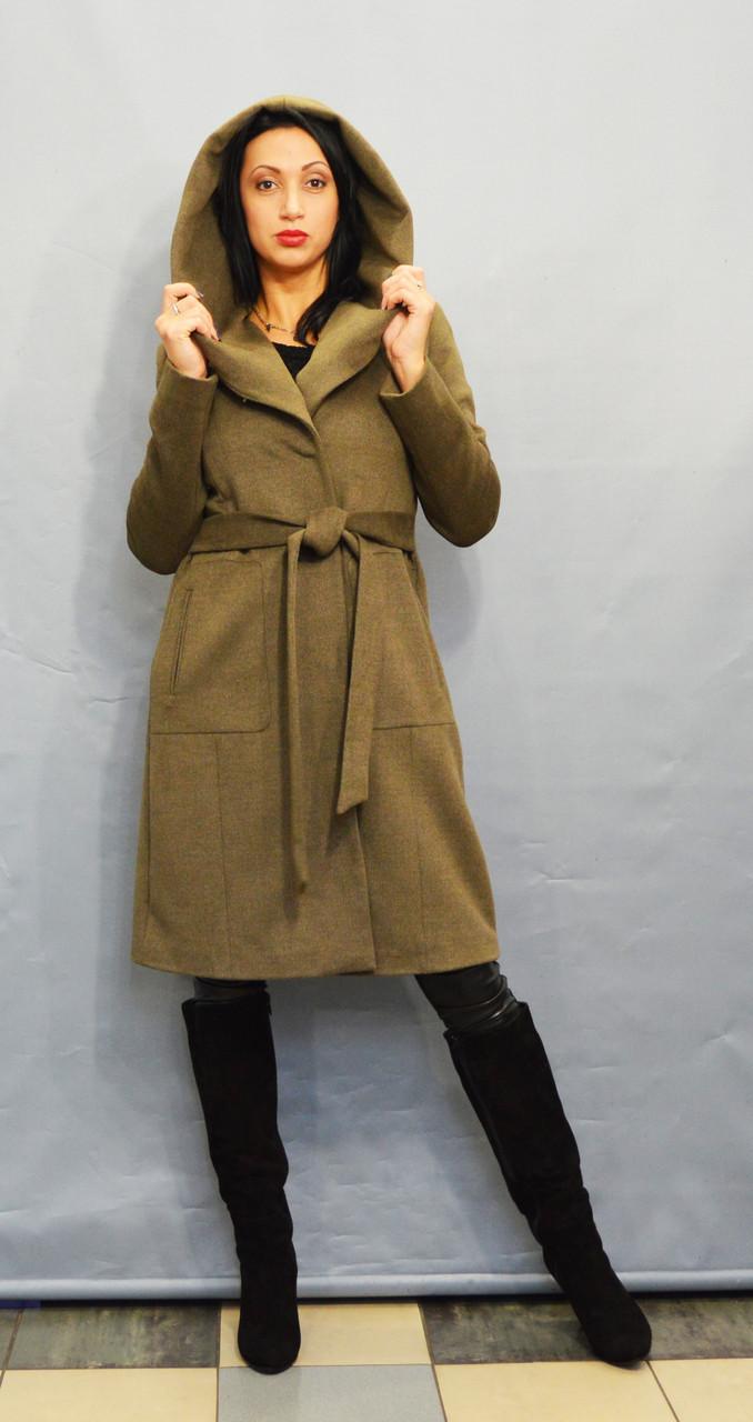 Пальто цвета хаки ICON 60027