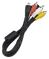 AV кабель Canon AVC-DC400ST для камер Canon 60D, 70D, 600D, 650D, 100D, 550D, 700D и др