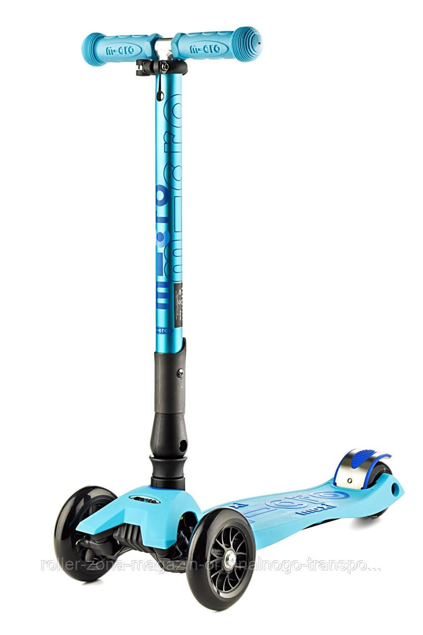 Самокат Maxi Micro Deluxe Foldable Bright Blue