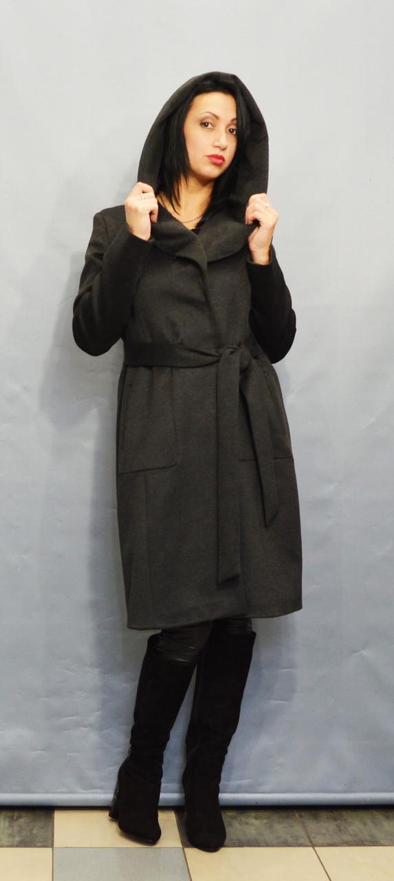 Пальто серое ICON 60027