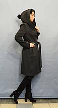 Пальто серое ICON 60027, фото 2