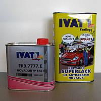 Лак акриловый автомобильный IVAT HS 2+1 5000 superlack antiscratch novalux 1,5 л
