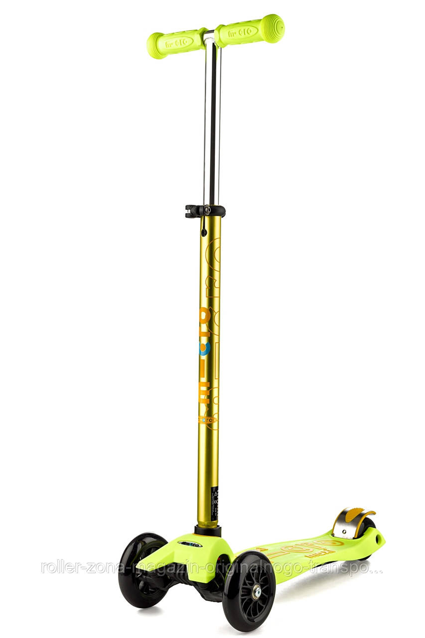 Самокат Maxi Micro Deluxe Yellow