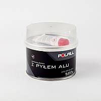 Шпаклівка POLFILL з алюмінієвим пилом 0,5 кг