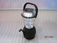 Фонарь с динамо и с солнечной батареей   для кемпинга SL-360., фото 1