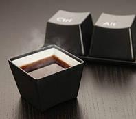 Набор чашек Компьютерная Клавиша, фото 1