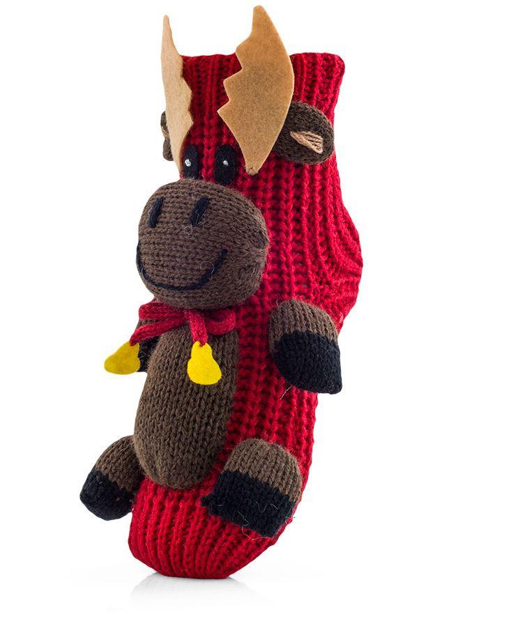 Носочки новогодние детские. Польша. Attractive Homeline Reindeer