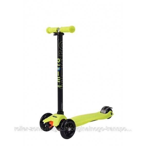 Самокат Maxi Micro Neon Yellow T