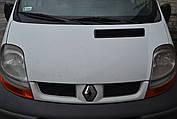 Решетка радиатора белая на Renault Trafic