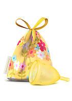 Менструальная чаша LadyCup Yellowcup M (Чехия)