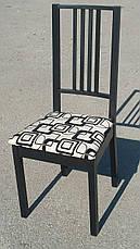 Стул кухонный  Бук с мягким сиденьем Fn, черный, фото 2