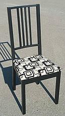 Стул кухонный  Бук с мягким сиденьем Fn, черный, фото 3