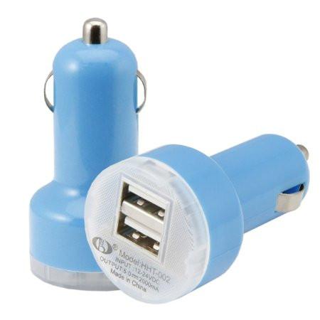 Автомобильное зарядное устройство авто 2-USB