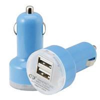 Автомобильное зарядное устройство авто 2-USB, фото 1