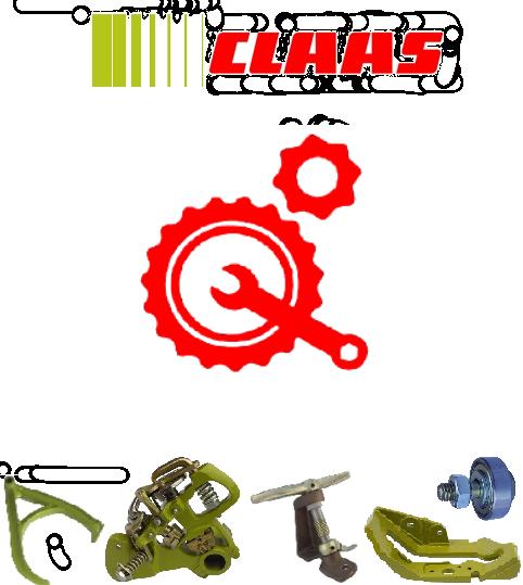 Запчасти для пресс-подборщиков Claas