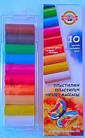 Пластилин 10 цв. 200 гр. 131710 Бабочка KOH-I-NOOR Чехия