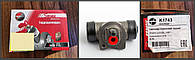 Цилиндр тормозной задний  К1743 рабочий, диаметр -17,46мм, 90235420