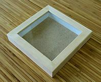 Рамка для 3D 20х20 см (липа глубокий 24 мм)