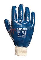 Перчатки с полным нитриловым покрытием TRIDENT
