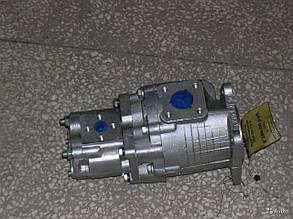 Установка насос-дозатора на трактор Т-40 с гидроцилиндром