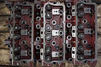 Головка блока цилиндров СМД-31 с клапанами
