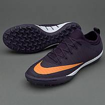 Сороконожки Nike MercurialX Finale II TF 831975-589 (Оригинал), фото 2