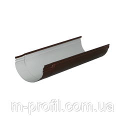 Желоб водосточный 125мм/1,25м RAL 8017