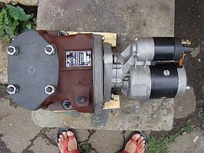 Переоборудование ПДМ-10 под стартер (с редукторным стартером)