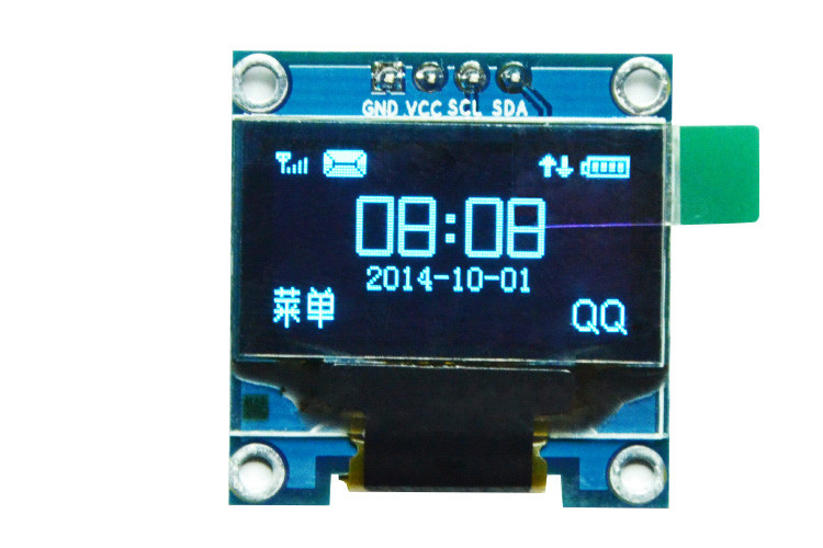 "OLED LCD РК дисплей/екран 0,96"" 2,7х2,8см 128x64"